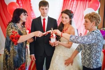 Самая КРАСНАЯ классная свадьба Вячеслава  и Надежды_34