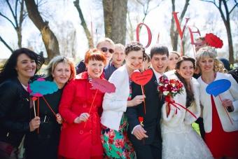 Самая КРАСНАЯ классная свадьба Вячеслава  и Надежды_3