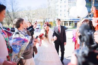 Самая КРАСНАЯ классная свадьба Вячеслава  и Надежды_5