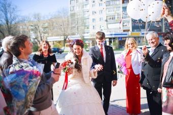 Самая КРАСНАЯ классная свадьба Вячеслава  и Надежды_6