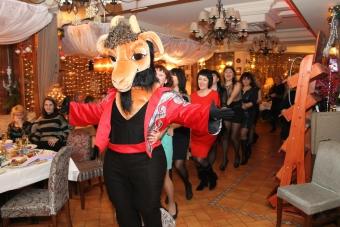 Ресторан Веранда новогодняя вечеринка