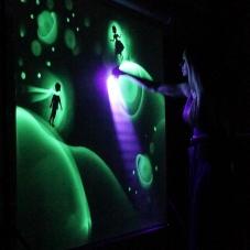 Песочное и световое шоу Людмилы Лепковой делает волшебство своими руками_6