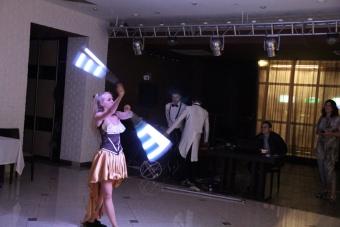 Огненное и световое шоу Volga Vibes_3