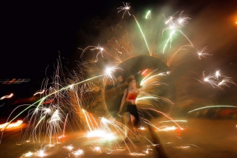 Огненное и световое шоу Volga Vibes_7